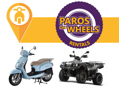 Paros on wheels vehicle rentals, Naoussa, Paros