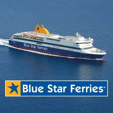 Voler avec Blue Star Ferries à Paros