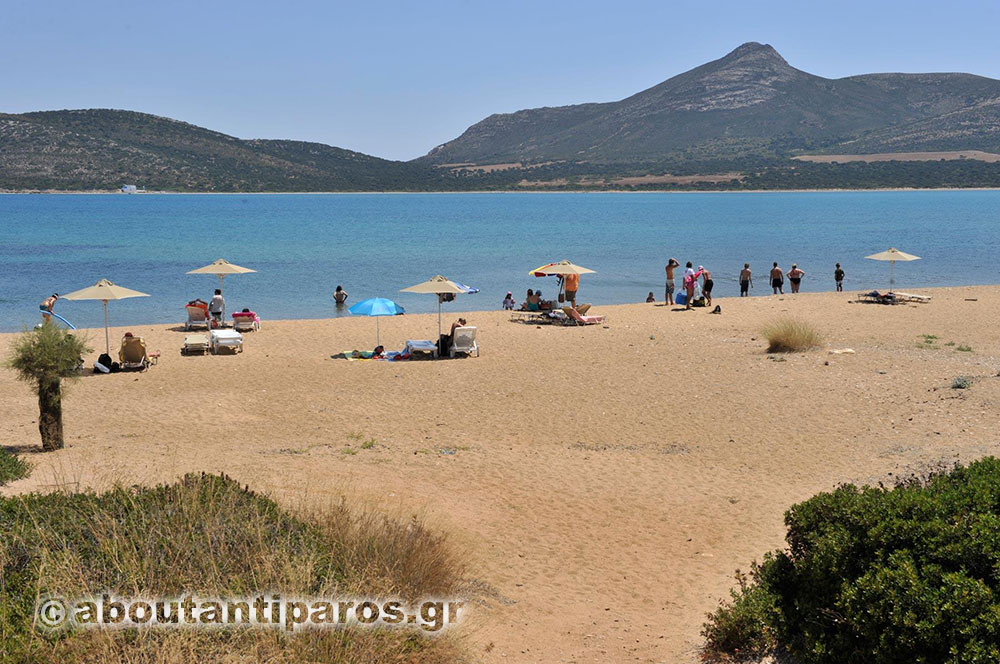 Beach at Antiparos