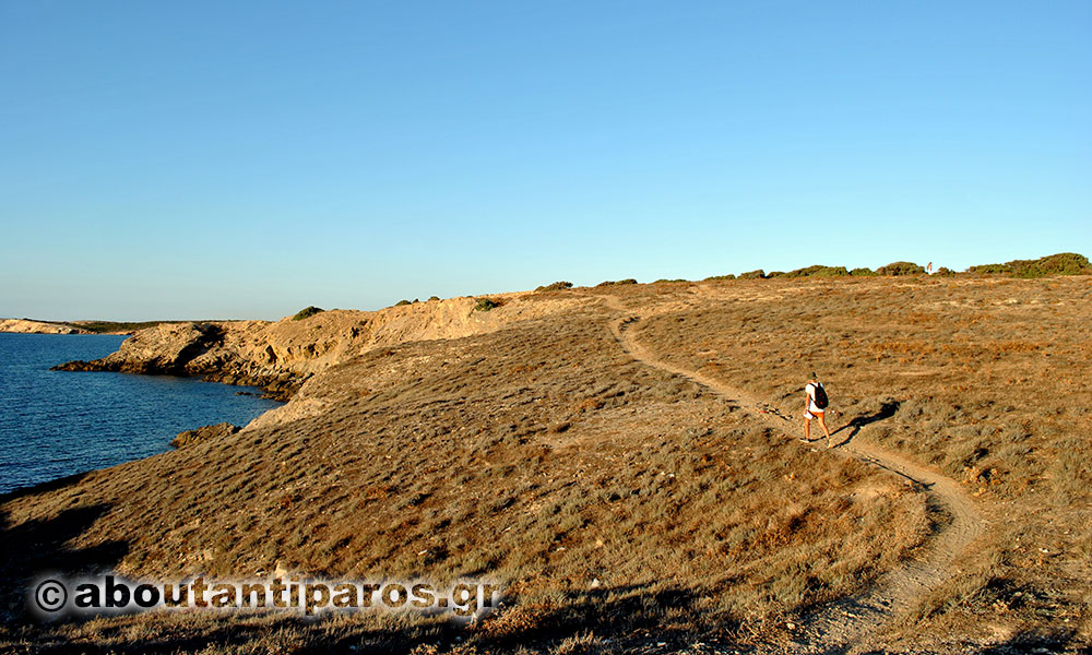 Hiking at Antiparos