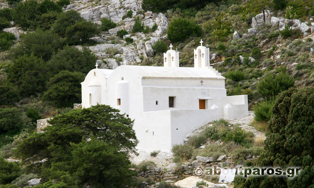 The monastery of Saint George in Paros