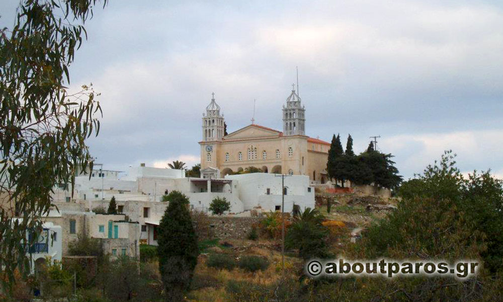 The church of Agia Triada in Lefkes