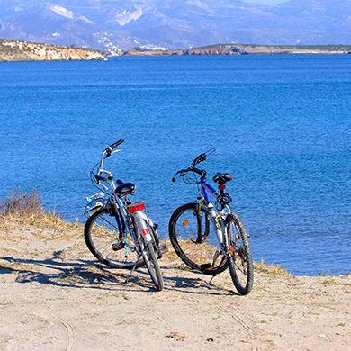 Bike rides in Paros