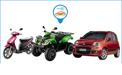 Car and motorcycle rentals in Paros