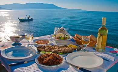 Restaurants of Paros