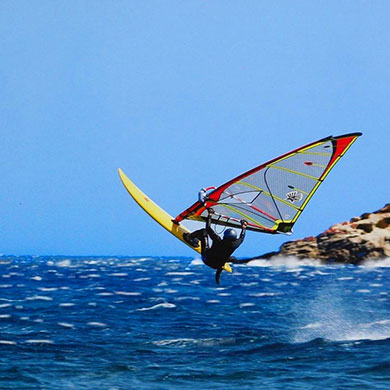 Sports and activities in Paros