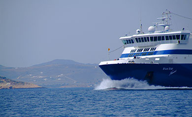 Access ways to Paros. Schedules and tickets