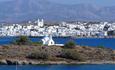 Villages in Paros