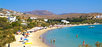 Beaches of Paros