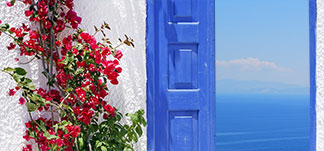 Houses for rent at Paros