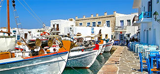 organized tours around Paros