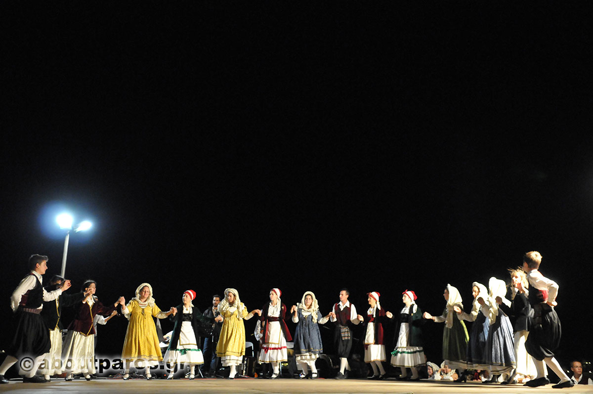 Traditional dances at festival