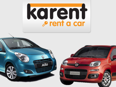 Karent car rentals, Parikia, Paros