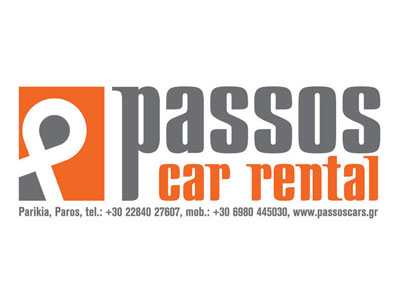 Car rentals Passos, Parikia, Paros