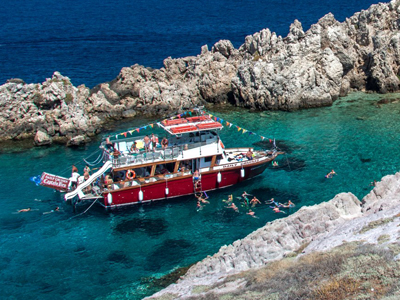 Island tour with captain ben, Paros, Antiparos