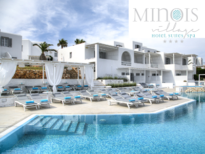 Minois Village, Hotel Suites & Spa, Parasporos, Paros